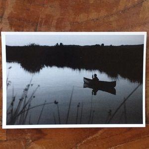 Fisherman Postcards. Black & White.  10 pack